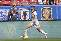 11th March 2020, Frisco, Texas, USA;  Ainhoa Vicente Moraza on the ball during the 2020 SheBelieves Cup Womens International Friendly football match between England Women vs Spain Women at Toyota Stadium in Frisco, Texas