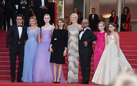 Colin Farrell, Kirsten Dunst, Elle Fanning, Sofia Coppola, Nicole Kidman, Youree Henley, Angourie Rice &amp; Addison Riecke at the premiere for &quot;The Beguiled&quot; at the 70th Festival de Cannes, Cannes, France. 24 May 2017<br /> Picture: Paul Smith/Featureflash/SilverHub 0208 004 5359 sales@silverhubmedia.com