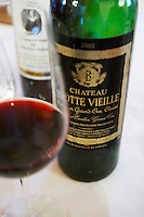 2002 in a glass chateau trottevieille saint emilion bordeaux france