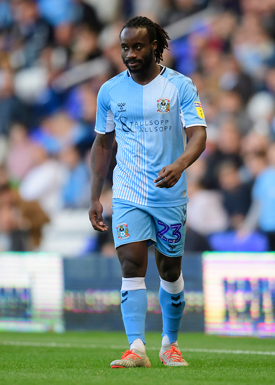 Coventry City's Fankaty Dabo<br /> <br /> Photographer Chris Vaughan/CameraSport<br /> <br /> The EFL Sky Bet League One - Coventry City v Blackpool - Saturday 7th September 2019 - St Andrew's - Birmingham<br /> <br /> World Copyright © 2019 CameraSport. All rights reserved. 43 Linden Ave. Countesthorpe. Leicester. England. LE8 5PG - Tel: +44 (0) 116 277 4147 - admin@camerasport.com - www.camerasport.com
