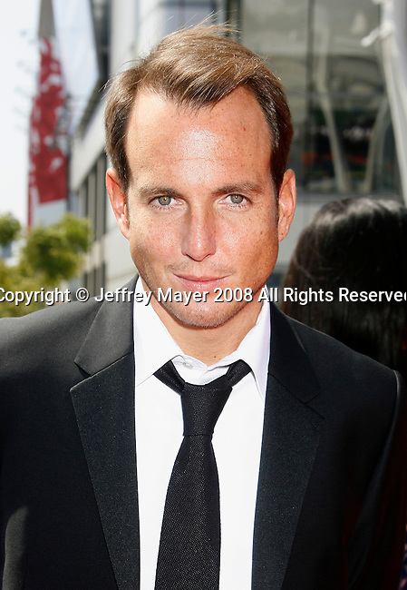 LOS ANGELES, CA. - September 13: Actor Will Arnett arrives at the 60th Primetime Creative Arts Emmy Awards held at Nokia Theatre on September 13, 2008 in Los Angeles, California.