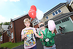 Redrow Homes Meet The Neighbours event at Parc Heol Gerrig, Merthyr Tydfil..James & Lloyd Williams.25.05.13.©Steve Pope