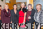 Enjoying the Gala Reunion to Celebrate South Kerry's 3 in-a-row County Championship wins in 2004, '05 & 06 in the Ring of Kerry Hotel on Saturday night were l-r; Helena Donnelly, Catherine Galvin, Áine Young, Kathleen O'Sullivan & Ann Clifford.