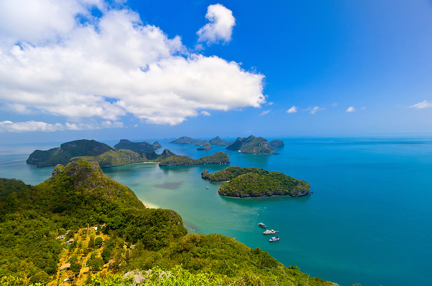 Exceptionnel Overview from Ko Wua Talap, one of the islands in the Angthong  TG93