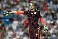 Galatasaray's Fernando Muslera during XXXVI Santiago Bernabeu Trophy. August 18,2015. (ALTERPHOTOS/Acero)