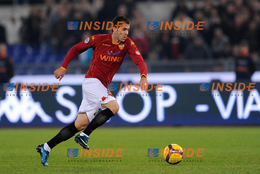"""Jeremy Menez (Roma)<br /> Roma 17/11/2008 Stadio """"Olimpico"""" <br /> Campionato Italiano Serie A 2008/2009<br /> Roma Lazio (1-0)<br /> Foto Andrea Staccioli Insidefoto"""