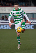 17th March 2019, Dens Park, Dundee, Scotland; Ladbrokes Premiership football, Dundee versus Celtic; Callum McGregor of Celtic