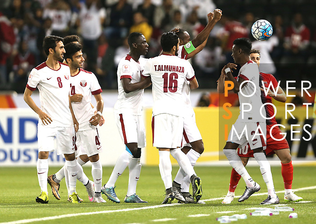 Qatar vs Syria during the AFC U23 Championship 2016 Group A match on January 18, 2016 at the Jassim Bin Hamad Stadium in Doha, Qatar. Photo by Fadi Al-Assaad / Lagardère Sports