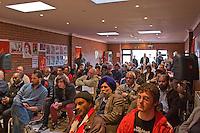 Audence at the Memorial Meeting honouring Godfrey Cremer's life, Saklatvala Hall, Southall, 12th May 2012