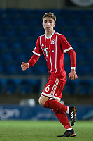 Niklas Tarnat of Bayern Munich II during the Premier League International Cup match between Reading U23 and Bayern Munich II at the Adams Park, Wycombe, England on 8 December 2017. Photo by Andy Rowland.