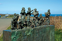 Eyemouth Disaster Memorial, Cove, Scottish Borders