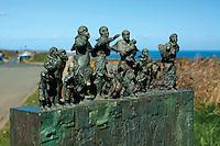 Eyemouth Disaster Memorial, Cove, Scottish Borders