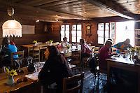 Switzerland, Canton Valais, Albinen: village Inn 'Godswaergjistubu' - medalled Best Swiss Gastro 2008 | Schweiz, Kanton Wallis, Albinen: Dorfgasthof Godswaergjistubu - ausgezeichnet als Best Swiss Gastro 2008