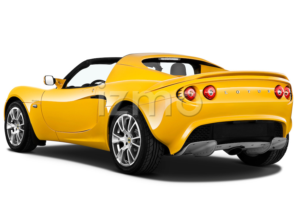 Rear three quarter view of a 2009 Lotus Elise SC 2 Door Convertible