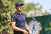 \Henrik Stenson (SWE) on the 14th tee during the 1st round of the DP World Tour Championship, Jumeirah Golf Estates, Dubai, United Arab Emirates. 15/11/2018<br /> Picture: Golffile | Fran Caffrey<br /> <br /> <br /> All photo usage must carry mandatory copyright credit (&copy; Golffile | Fran Caffrey)