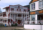 Drug Store and Bunk House in Dawson City