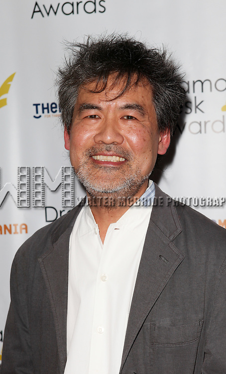David Henry Hwang pictured at the 57th Annual Drama Desk Awards held at the The Town Hall in New York City, NY on June 3, 2012. © Walter McBride