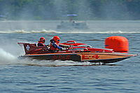 "E-4 ""Sir Ron III, (Albee built from Ron Jones plans, 280 class hydroplane) Paul Scopinich, E-156 ""Sin"" (1975 Lloyd 280 class hydroplane)"