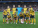 Arsenal's team group during the Champions League group A match at the Emirates Stadium, London. Picture date September 28th, 2016 Pic David Klein/Sportimage