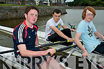 TRALEE ROWING CLUB: Member's of Tralee Rowing Club l-r: Jason Teahan, Michael Barrett and Donal Fitzgibbon.