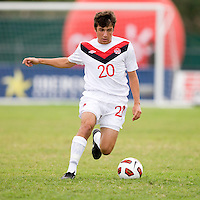 Michael Petrasso. Canada played Panama during the CONCACAF Men's Under 17 Championship at Catherine Hall Stadium in Montego Bay, Jamaica.