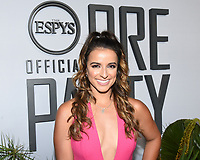 "09 July 2019 - Los Angeles, California - Victoria Arlen. ESPN ""The ESPYS Official Pre-Party"" held at the Hotel Figueroa. Photo Credit: Billy Bennight/AdMedia"