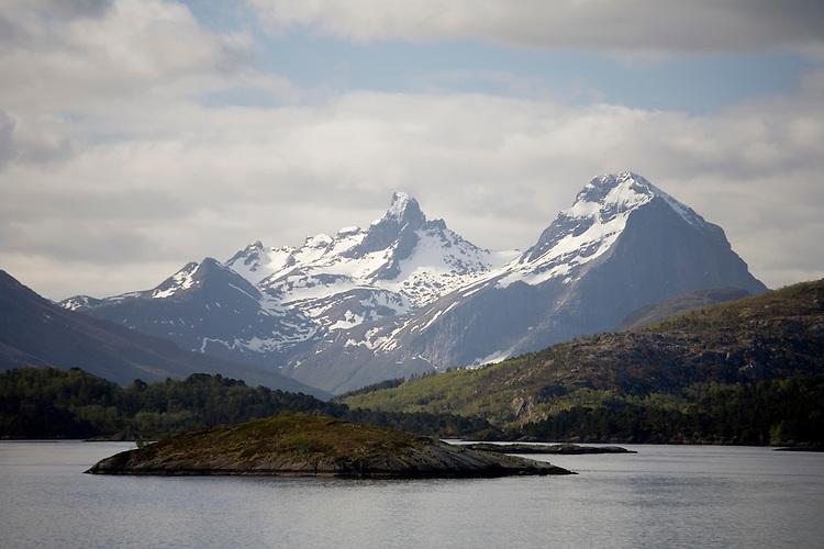 Coastal Norway near the Artic Circle