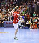 Arnor Thor Gunnarsson;  beim Spiel in der Handball Bundesliga, SC Magdeburg - Bergischer HC.<br /> <br /> Foto &copy; PIX-Sportfotos *** Foto ist honorarpflichtig! *** Auf Anfrage in hoeherer Qualitaet/Aufloesung. Belegexemplar erbeten. Veroeffentlichung ausschliesslich fuer journalistisch-publizistische Zwecke. For editorial use only.