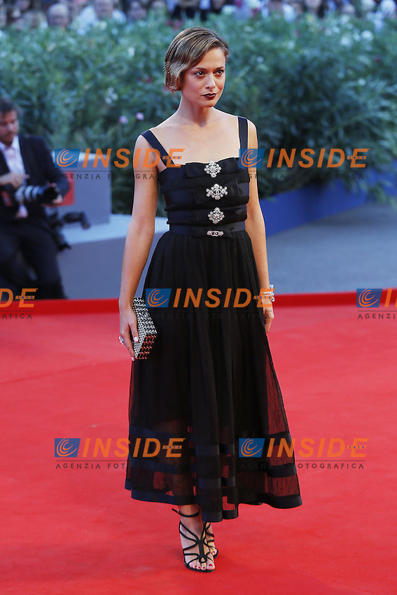 VENICE, ITALY - SEPTEMBER 10: Valeria Bilello attends 'Remember' Red Carpet during 72nd Venice Film Festival at Palazzo Del Cinema on September 3, 2015 in Venice, Italy. (Mark Cape/insidefoto)