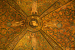 Mosaics on the ceiling of the Basilica of San Vitale in Ravenna, Italy.