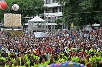 SÃO PAULO, SP, 01.05.2014 – DIA DO TRABALHADOR  CUT/CTB/CSB - Ato para comemorar o Dia Internacional do Trabalhador organizado pela Central Única dos Trabalhadores (CUT), Central dos Trabalhadores do Brasil (CTB) e a Central dos Sindicatos Brasileiros (CSB) no Vale do Anhangabaú, região central de São Paulo. (Foto: Levi Bianco / Brazil Photo Press).