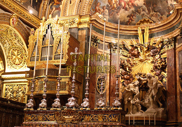 St John's Co Cathedral in Valletta, Malta - on Thursday and Friday January 29th and 30th 2015<br /> CAP/ROS<br /> &copy;Steve Ross/Capital Pictures