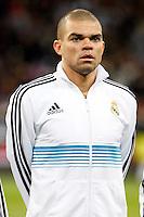 Pepe during La Liga Match. December 01, 2012. (ALTERPHOTOS/Caro Marin)