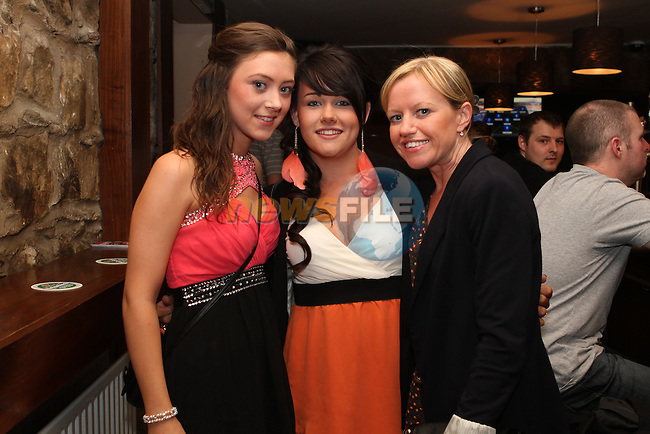 Dawn Campbell, Shauna Devine and Nicki Rathcliff at Aslan in Fusion...(Photo Jenny Matthews/www.newsfile.ie)
