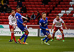 Matt Done of Sheffield Utd takes a shot on goal - FA Cup Second round - Sheffield Utd vs Oldham Athletic - Bramall Lane Stadium - Sheffield - England - 5th December 2015 - Picture Simon Bellis/Sportimage