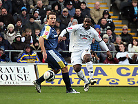 Pictured: Jason Scotland of Swansea City in action<br /> Re: Coca Cola Championship, Swansea City FC v Cardiff City at the Liberty Stadium. Swansea, south Wales, Sunday 30 November 2008.<br /> Picture by D Legakis Photography / Athena Picture Agency, Swansea 07815441513