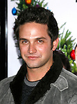 """HOLLYWOOD, CA. - December 03: Actor Brandon Barash arrives at the Los Angeles premiere of """"Nothing Like The Holidays"""" at Grauman's Chinese Theater on December 3, 2008 in Hollywood, California."""
