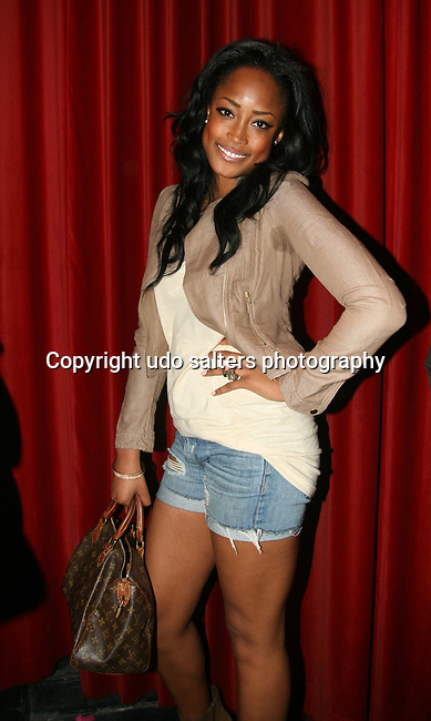 Keenyah Hill of America's Next Top Model attends the National Museum of Hip Hop VIP Launch Event: Hip-Hop Immortal Hosted by Chuck D and KRS One at M2 Ultra Lounge, New York 4/6/10