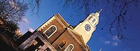 © David Paterson.All Saints Church, Clapham Common, south London...Keywords: church, christian, steeple, bell-tower, Saints, Clapham, London, religion