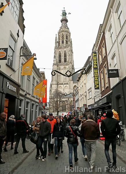 Nederland  Breda  2016. De Grote Kerk in Breda. Foto Berlinda van Dam / Hollandse Hoogte