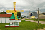 Dutch windmill in the Danish area of Iowa at ELk Horn