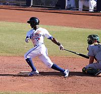JD Davis - Peoria Javelinas - 2017 Arizona Fall League (Bill Mitchell)