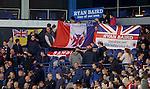 Rangers fans tribute to Ryan Baird