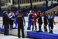 SCHAATSEN: HEERENVEEN: Thialf, 4th Masters International Speed Skating Sprint Games, 25-02-2012, Competitors, Deelnemers, ©foto: Martin de Jong