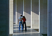 Couple at an American Cemetery, Manila, Philippines.