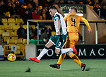 29.03.2019 Livingston v Hibs: Marc McNulty and Alan Lithgow