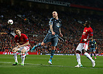 Zlatan Ibrahimovic of Manchester United misses an opportunity to score during the Europa League Semi Final 2nd Leg match at Old Trafford Stadium, Manchester. Picture date: May 11th 2017. Pic credit should read: Simon Bellis/Sportimage