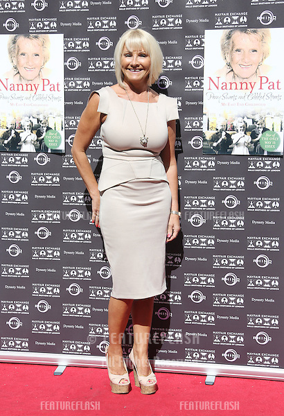 Carol Wright as Nanny Pat launches her book 'Penny Sweets and Cobbled Streets: My East End Childhood' held at the Balls Brothers- Arrivals.London. 28/08/2012 Picture by: Henry Harris / Featureflash..