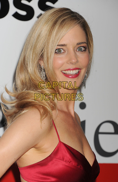 Christina Moore.Santa Monica Red Cross Chapter Annual Red Tie Gala Held at Fairmont Miramar Hotel, Santa Moinica, California, USA..April 21st, 2012.headshot portrait red side lipstick.CAP/ROT/TM.© TM/Roth/Capital Pictures