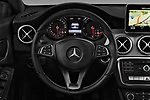 Car pictures of steering wheel view of a 2017 Mercedes Benz CLA-Class - 5 Door wagon Steering Wheel